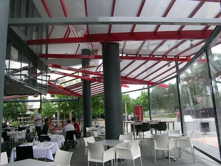 פתרונות הצללה למסעדות