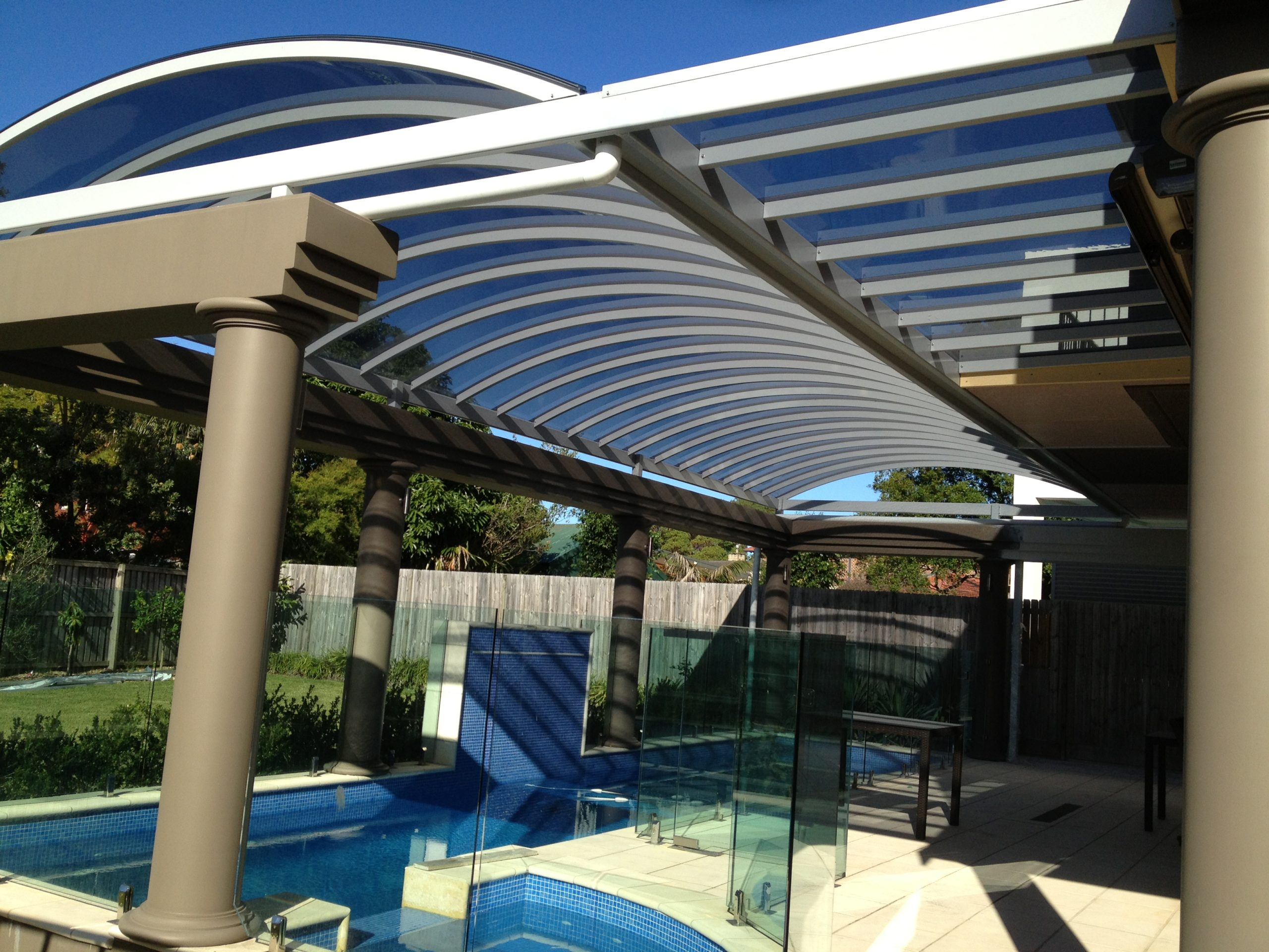 outdoor.roofing system.housing.4 mm.grey.australia.Freespan with DP4 Grey (1)
